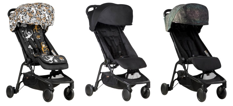 2018 Mountain Buggy Nano Stroller Black