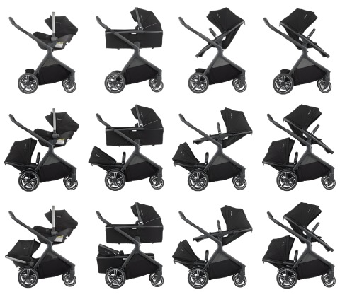 Nuna Demi Grow Seating Options