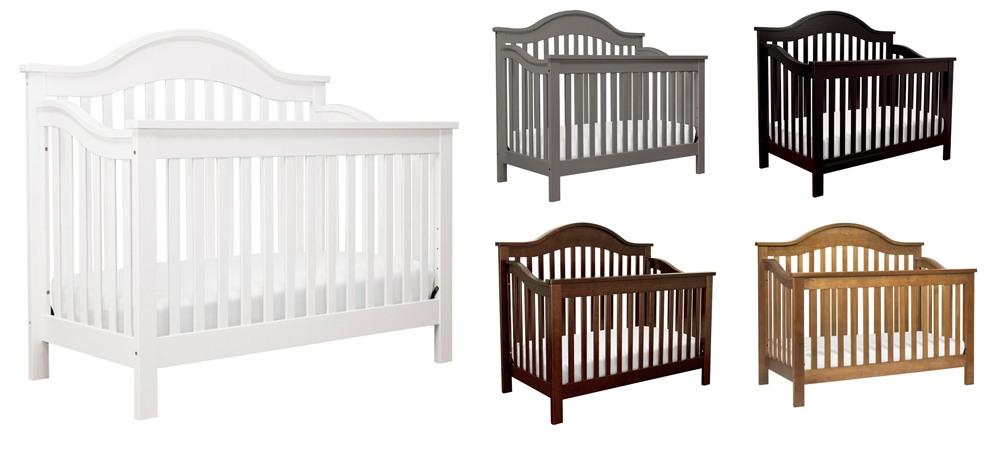 Davinci Jayden 4-in-1 Convertible Crib colors