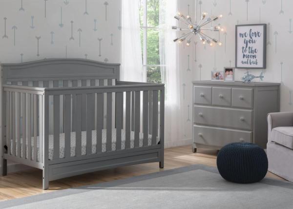 Delta Children Emery 4-in-1 Convertible Baby Crib