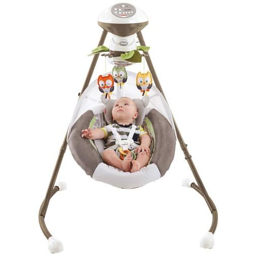 Fisher-Price My Little Snugabear Cradle 'n Swing 2