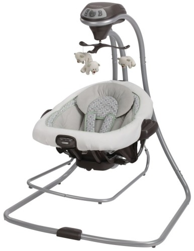 Graco DuetConnect LX Swing and Bouncer review