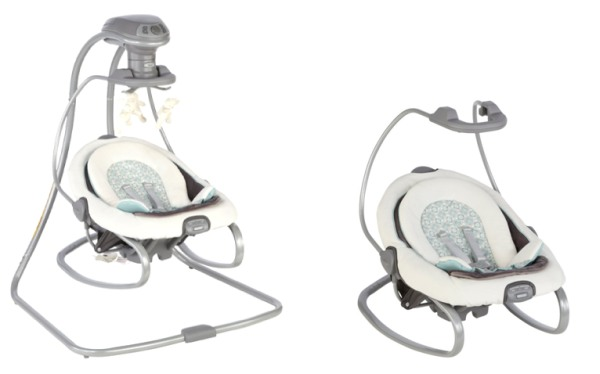 Graco DuetSoothe Swing and Rocker review