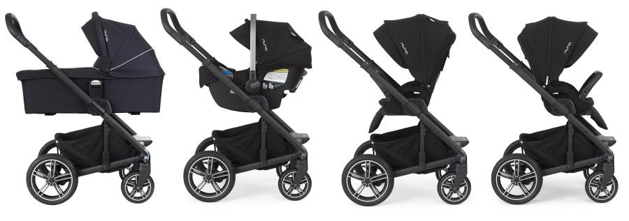 Nuna Mixx2 Convertible Stroller
