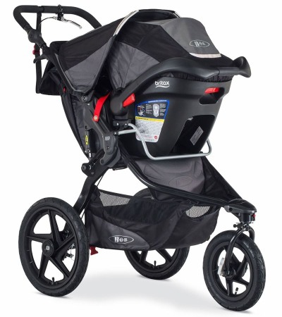 BOB Revolution PRO with infant car seat