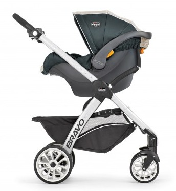 Chicco Bravo Trio Travel System Car Seat