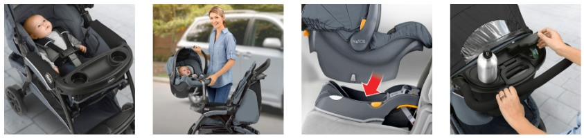 Chicco Cortina CX Travel System Car Seat