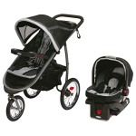 Graco Fastaction Fold Jogger Click Connect Baby Travel System small
