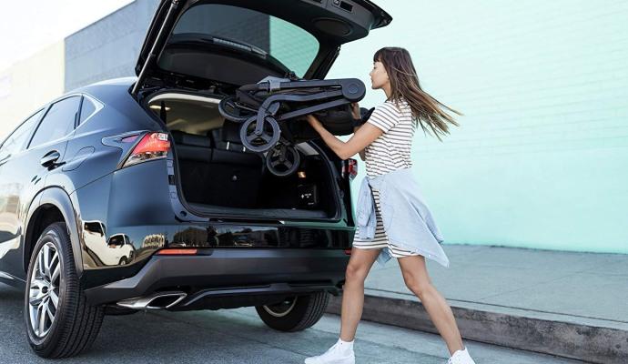 stroller car trunk