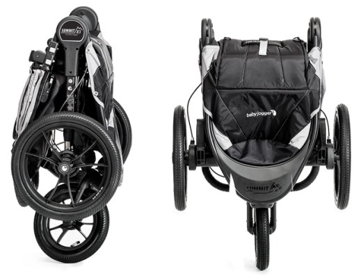 Baby Jogger Summit X3 Folded