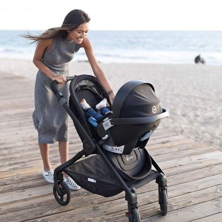 Ergobaby 180 with car seat