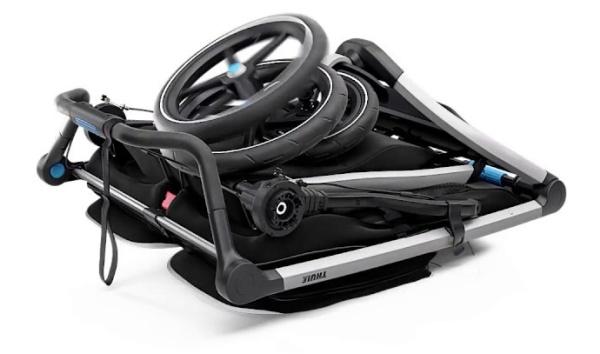 Thule-Urban-Glide-2-Double-Stroller-Folded