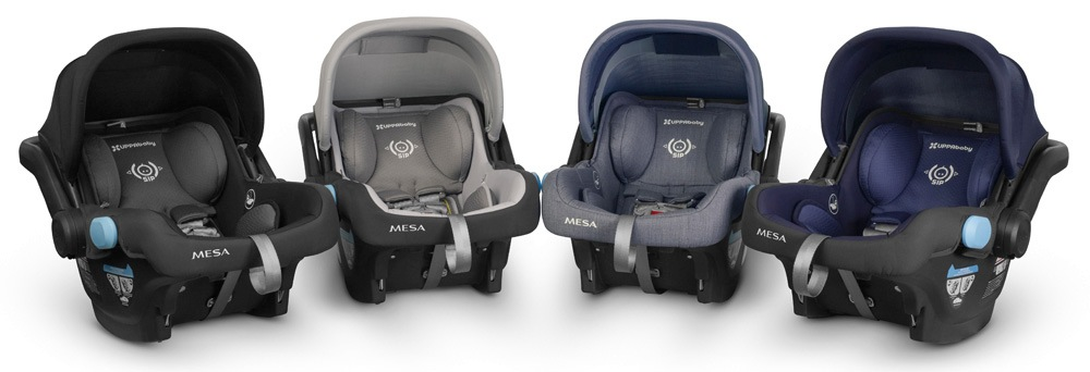 UPPAbaby Cruz and UPPAbaby Mesa car seat