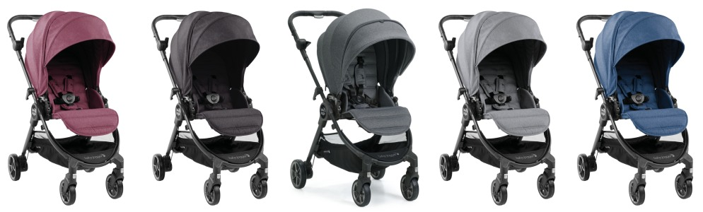 baby jogger city tour lux colors