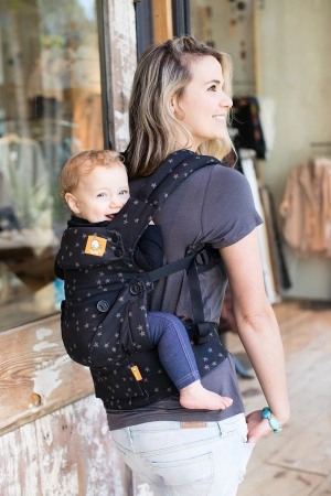 baby tula explore back carry position