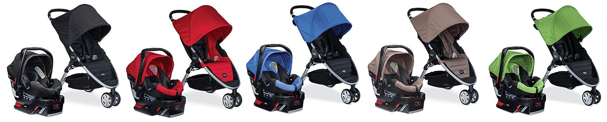 britax b-agile colors