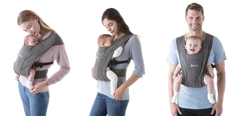 ergobaby embrace carrying modes